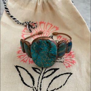 Free People Jewelry - Free People Maya Stone cuff